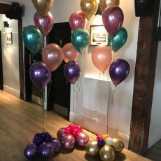 Helium Balloon Decorations Champers Party Shop