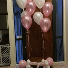 Newborn Baby Party Balloon Decorations Auckland 3