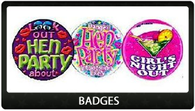Party Supplies Auckland Badges