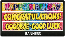 Party Supplies Auckland Banners