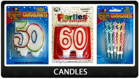 Party Supplies Auckland Candles