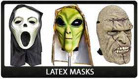 Party Supplies Auckland Latex Masks