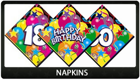 Party Supplies Auckland Napkins