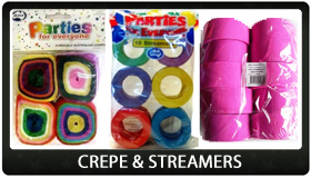 Party Supplies Auckland Streamers