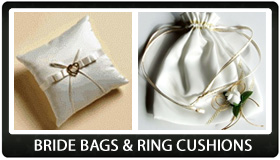 Wedding Bride Bags & Ring Cushions
